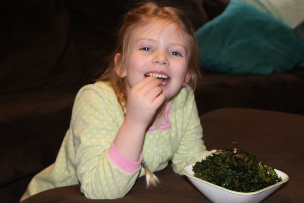 how to make kale chips