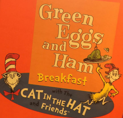 dr. seuss green eggs and ham breakfast