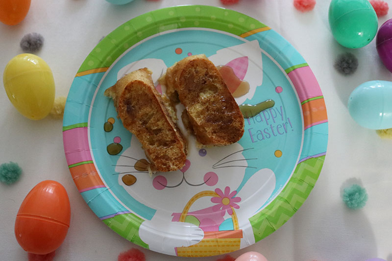 creme brulee french toast easter breakfast recipe