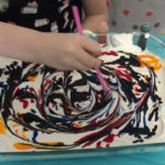 How to Dye Easter Eggs with Cool Whip  –  DIY Galaxy Easter Eggs