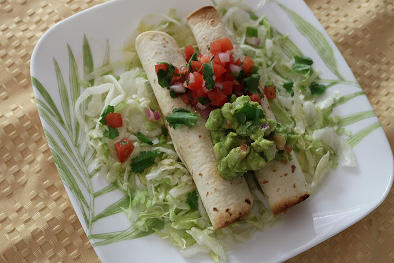 baked chicken taquitos recipe cinco de mayo mexican cusine