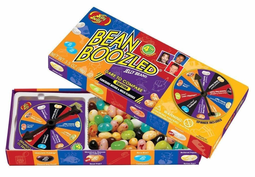best games for family game night bean boozled challenge