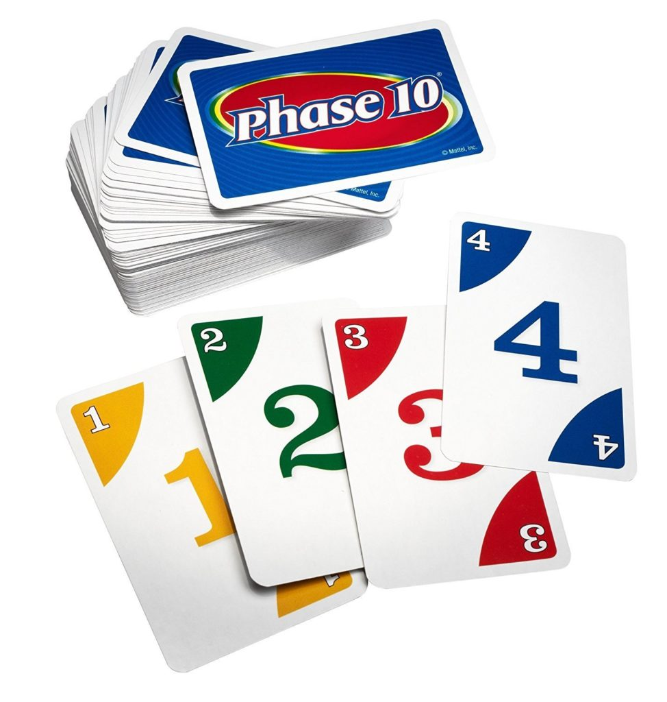 best games for family game night phase 10