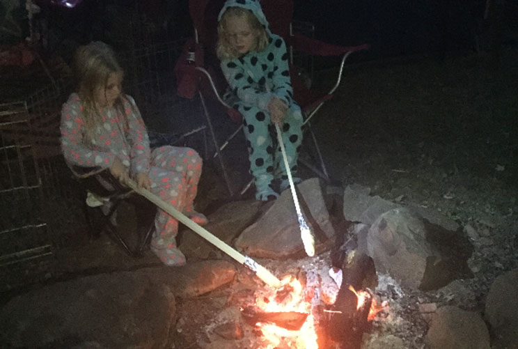 Camping With Kids How To Make Campfire Eclairs