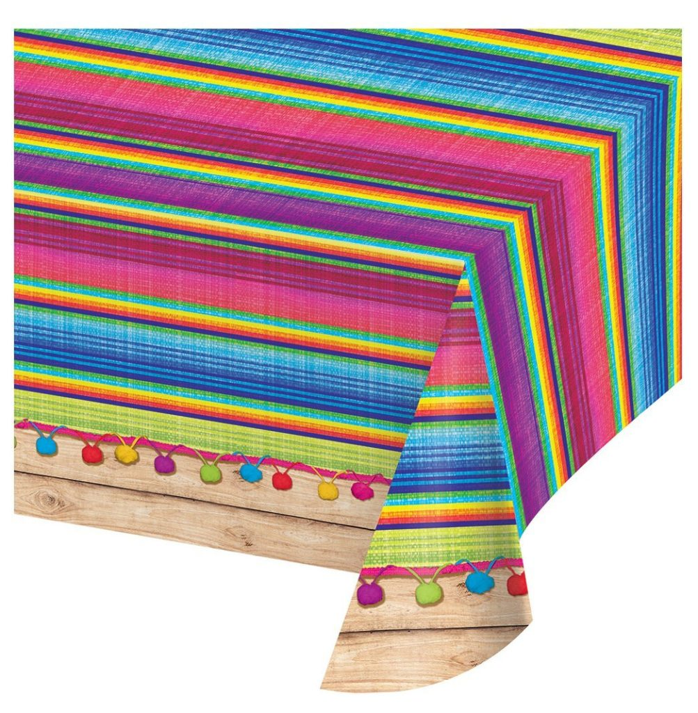 cinco de mayo party ideas tablecloth