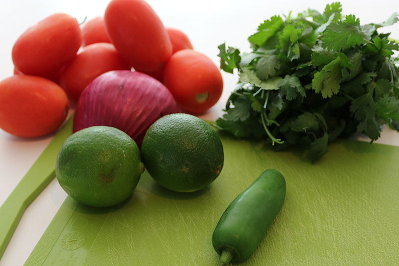 how to make pico de gallo salsa