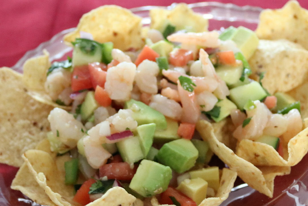 Shrimp Ceviche Recipe - Perfect Appetizer for Cinco De Mayo