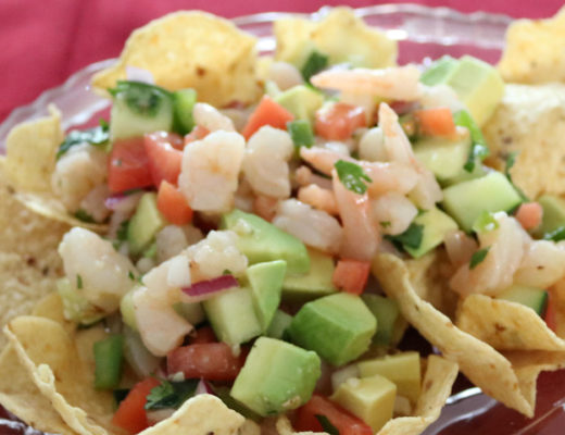Shrimp Ceviche Recipe - Perfect Appetizer for Cinco De Mayo
