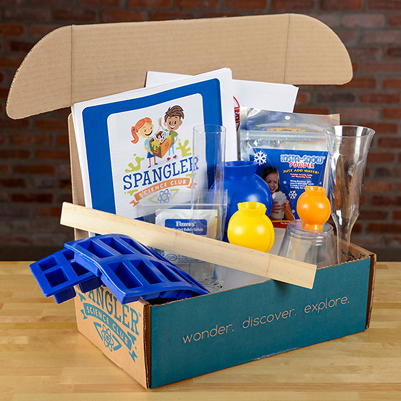 steve spangler science club subscription box for kids instant snow