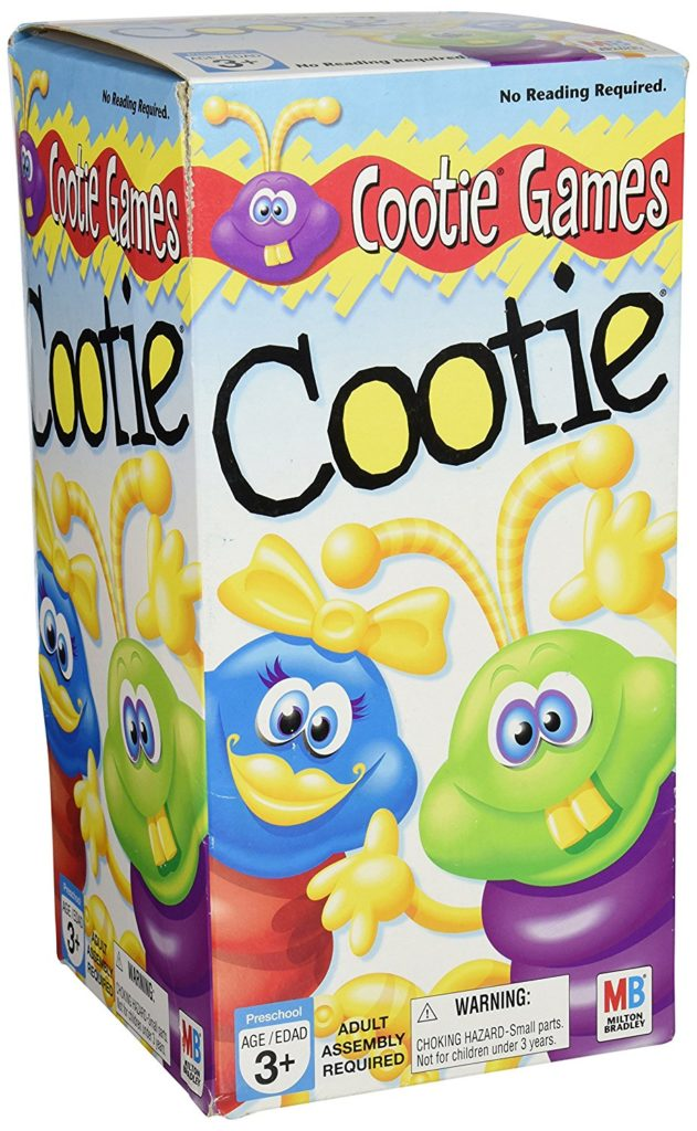 best board games for preschoolers cootie