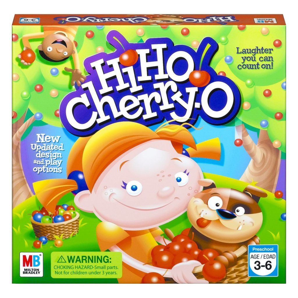 best board games for preschoolers hi ho cherry-o game