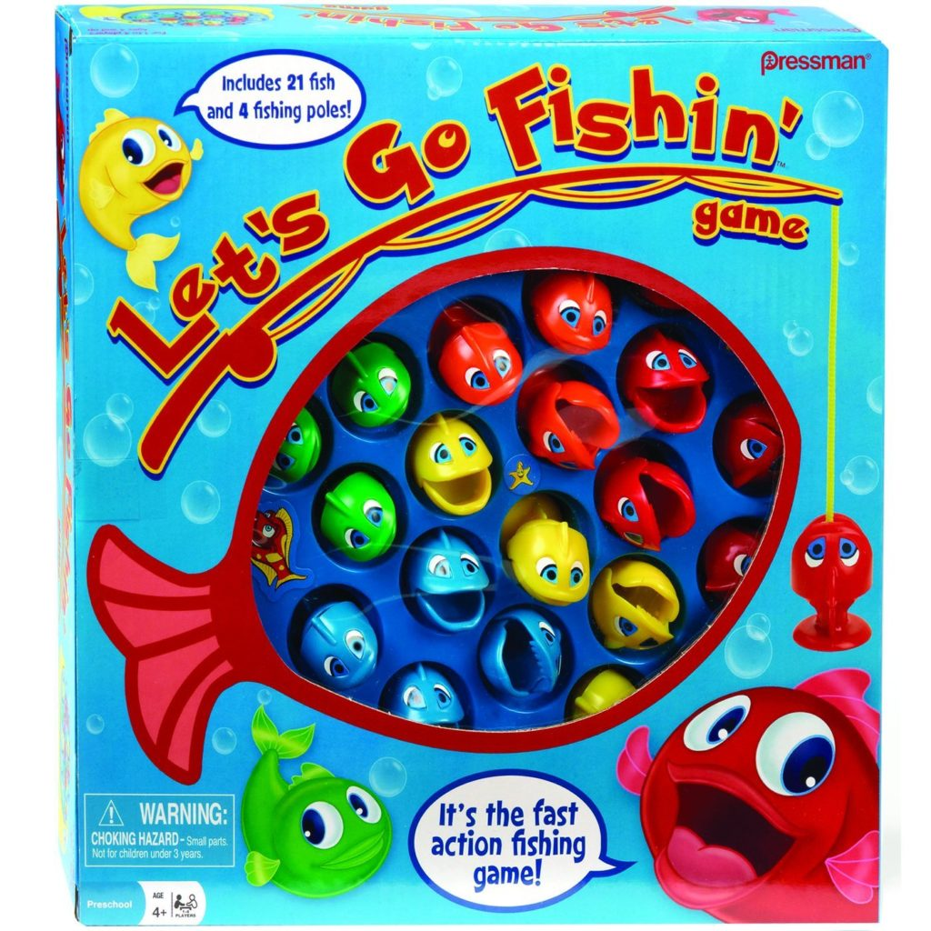 best board games for preschoolers let's go fishin