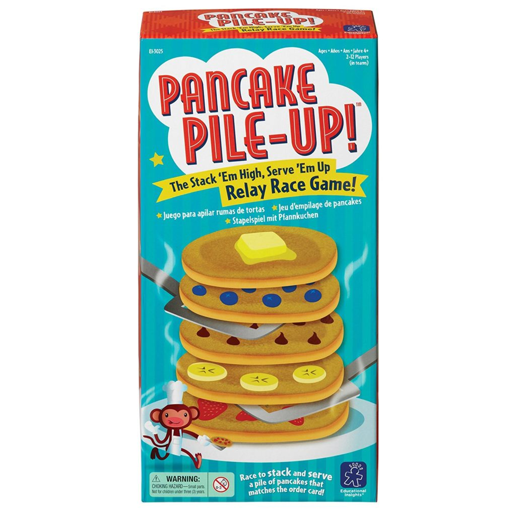 best board games for preschoolers pancake pile up