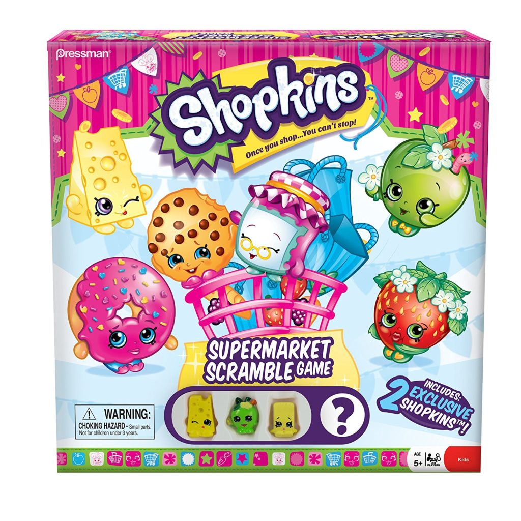 best board games for preschoolers shopkins supermarket scramble game
