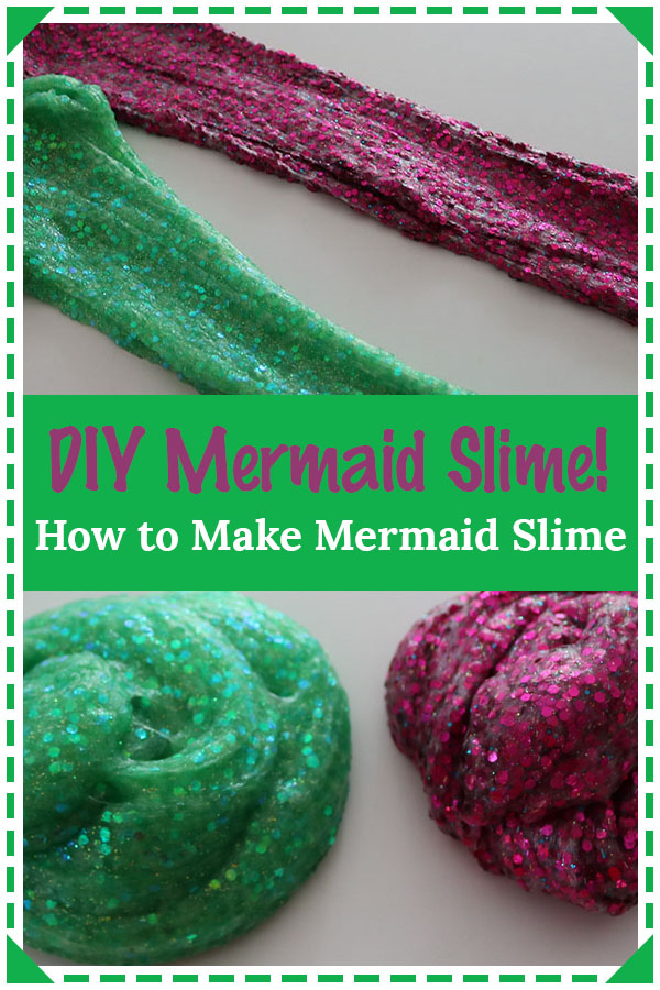 how to make mermaid slime