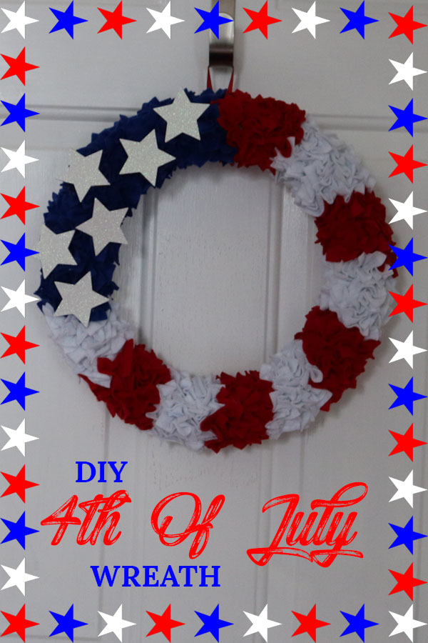 4th of july decoration diy wreath