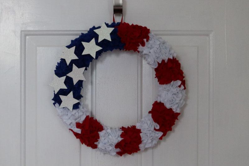 4th of july decoration diy wreath