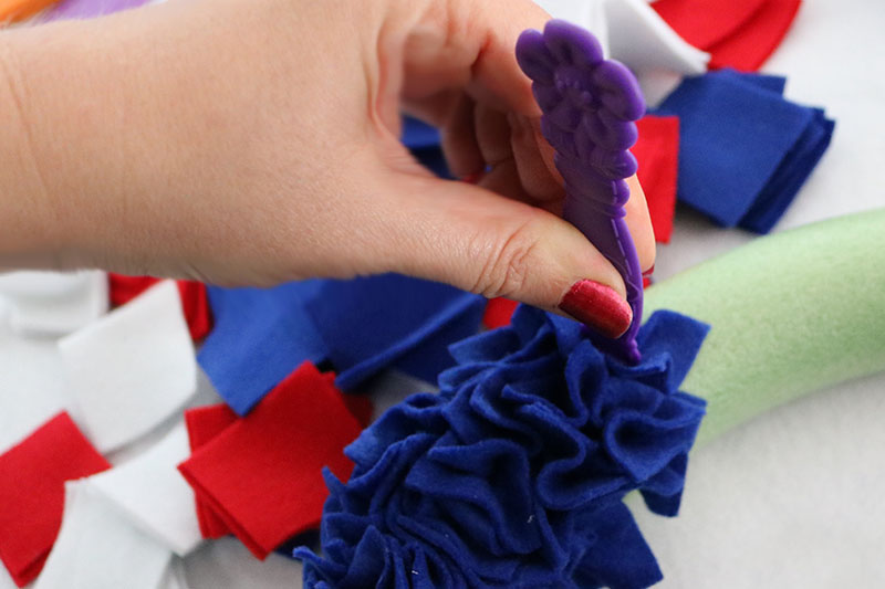 4th of july decor diy wreath