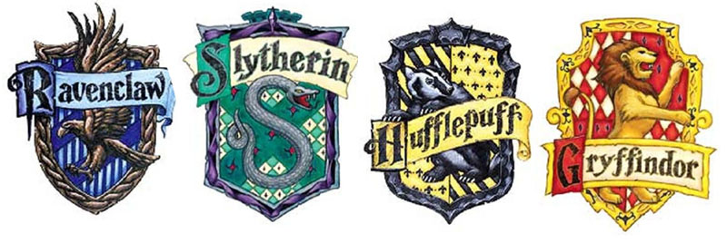 wizarding world of harry potter crests