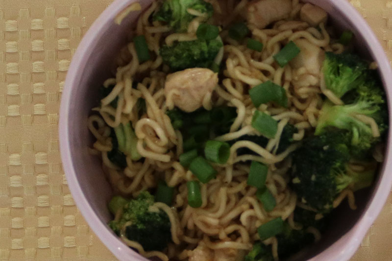 Ramen Noodle Stirfy