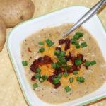 easy one pot loaded baked potato soup recipe